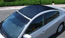 Solar power for your car