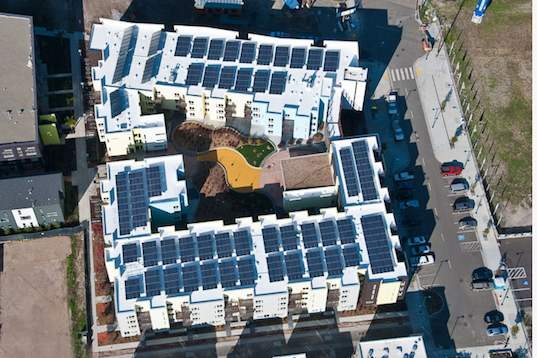 Apartment Adds Solar Panels To Cut Costs