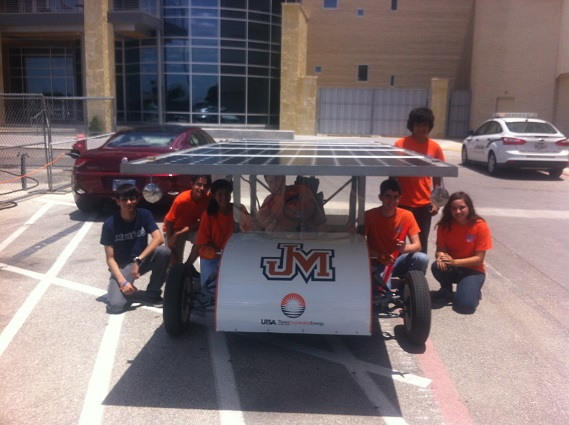 High school students race to make the best solar car