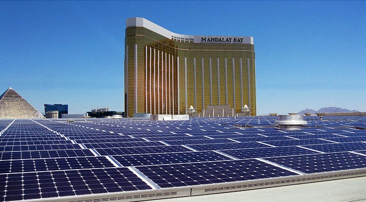 Las Vegas hotel to install country's 2nd largest rooftop solar array