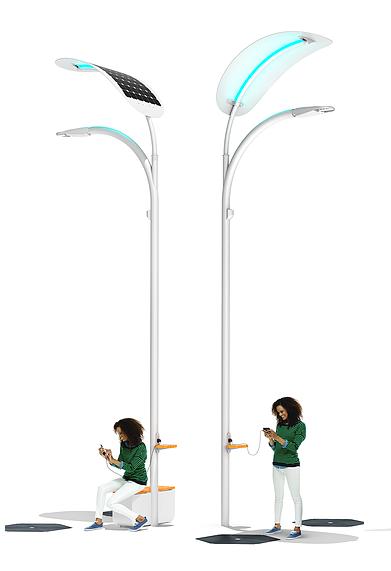 Engoplanet Smart Solar Street Light Suncore